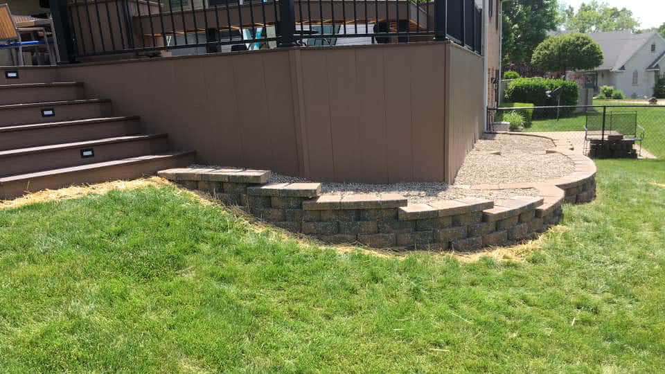 Stone Landscaping Wall